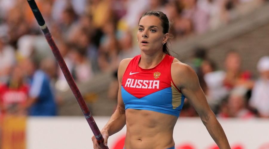 Isinbayeva to appeal IAAF ban in European Court of Human Rights