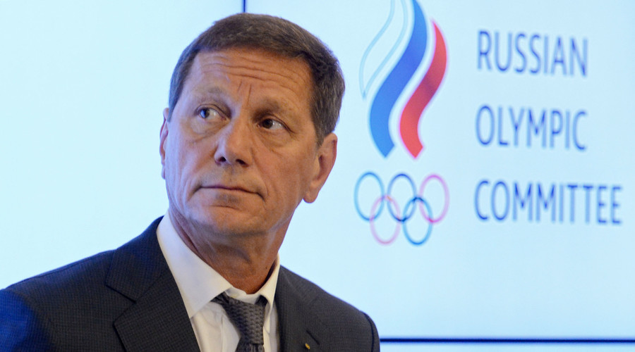 President of the Russian Olympic Committee Alexander Zhukov. © Evgeny Biyatov