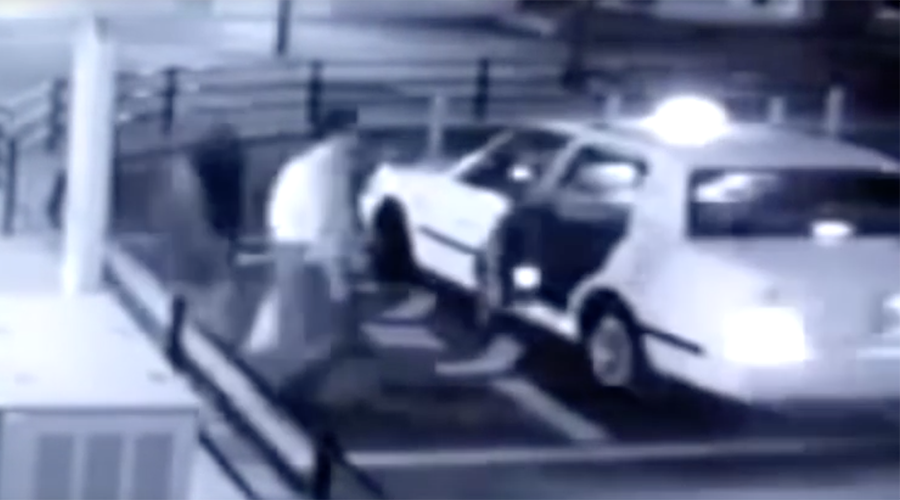 Internet freaked over CCTV showing 'ghost' getting into taxi (VIDEO, POLL)