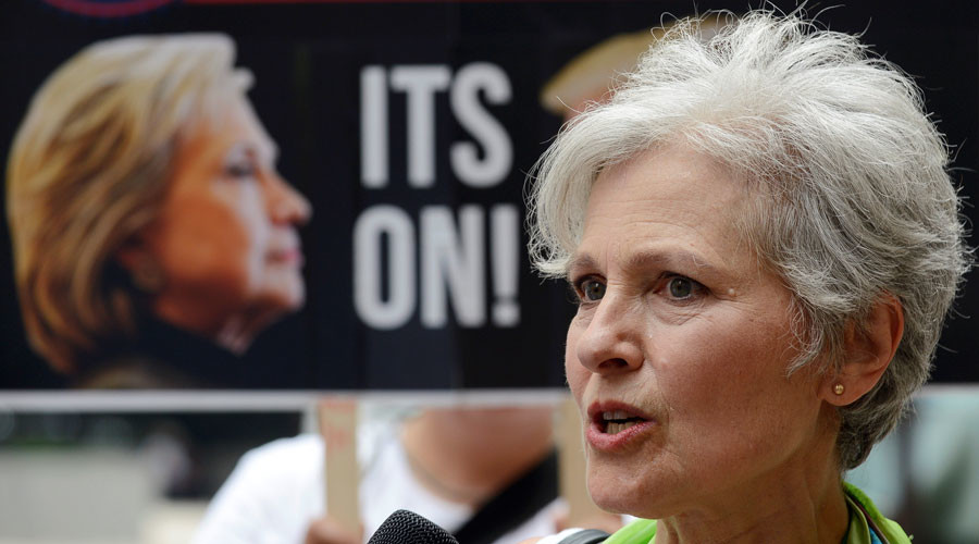 'Forget the lesser evil, fight for greater good': Jill Stein courts Bernie backers at DNC (VIDEO)