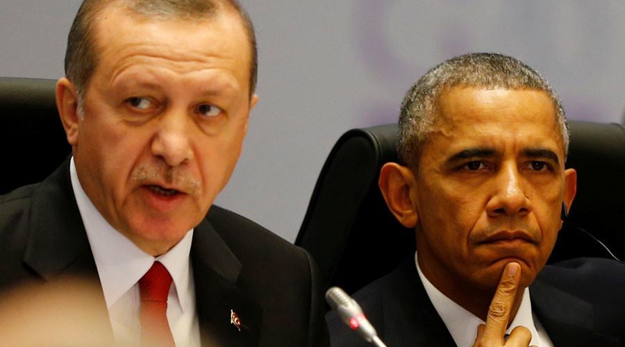 Turkey's President Tayyip Erdogan and U.S. President Barack Obama © Murad Sezer