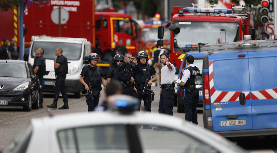 Normandy church attack 'symbolic', attempt to 'cultivate war between West & Islam'