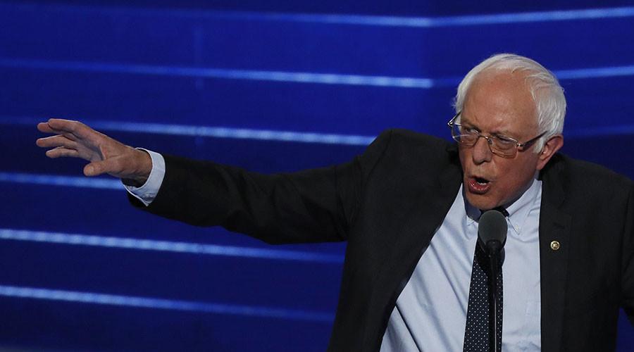 Senator and former Democratic presidential candidate Bernie Sanders. ©Mike Segar