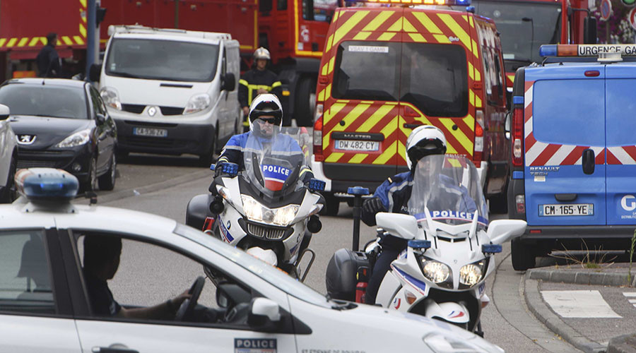 'Killers chanting in Arabic film priest's throat-slitting': Details about French church attack