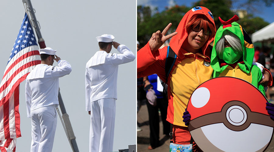'We'll help you become Pokemaster': US Navy retracts Pokemon Go recruitment strategy