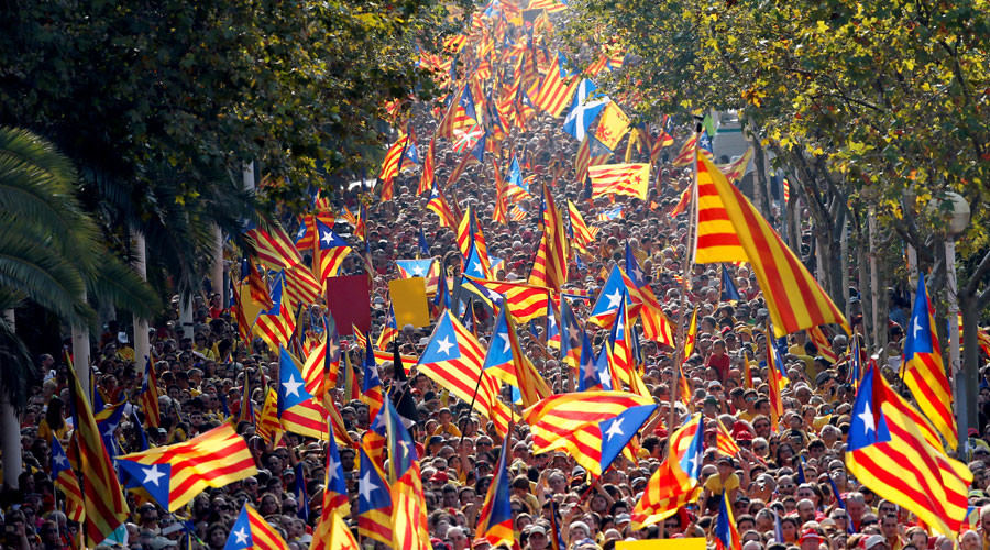 Catalonia determined to press on with Spain independence bid with or without Madrid's consent