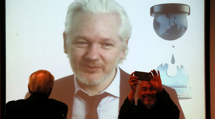 Assange promises to leak 'a lot more' materials on US presidential elections