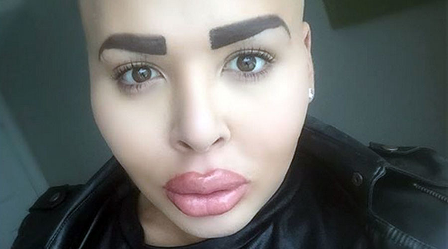 Battle of the Botox: Male Kim Kardashian lookalikes get catty in Facebook spat