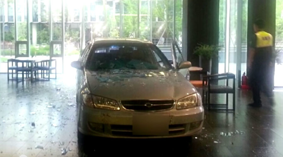 MapleStory madness: Gamer 'addict' smashes car into Nexon HQ over 'ruined life'