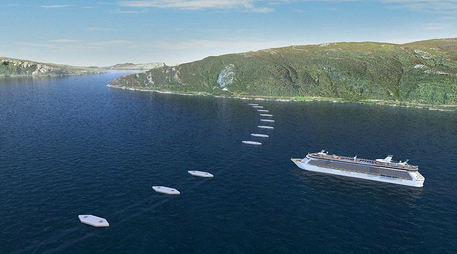 Norway To Build World S First Floating Underwater Traffic Tunnels