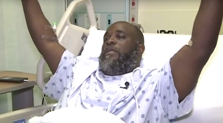 'It's not about me, but our country': Police shooting victim Charles Kinsey speaks out