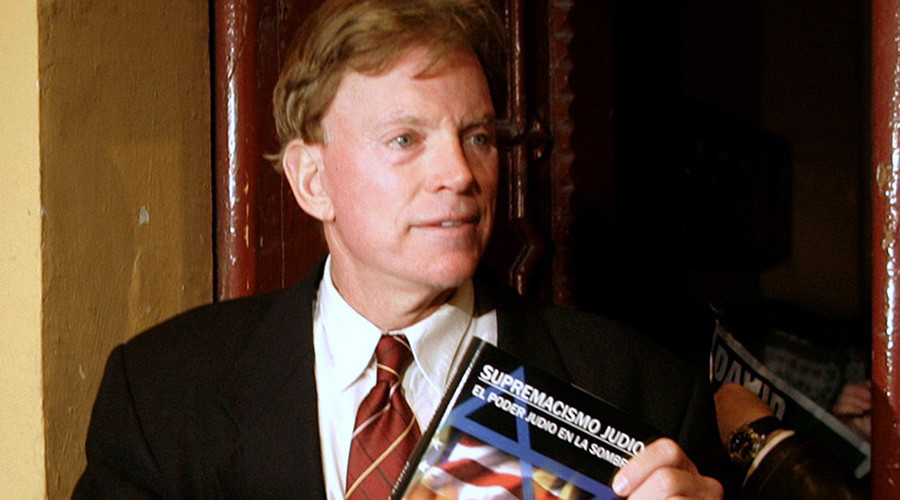 David Duke, former Republican member of the Louisiana House of Representatives and former Grand Wizard of the Knights of the Ku Klux Klan © Gustau Nacarino