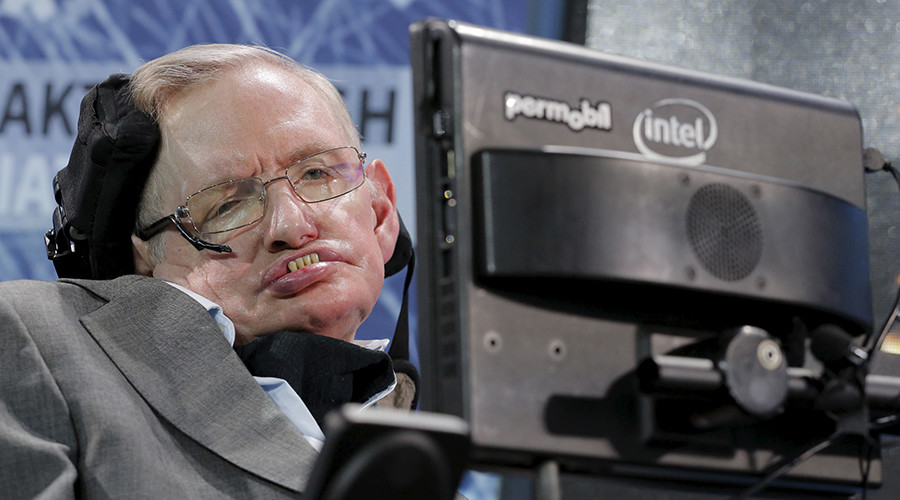 Physicist Stephen Hawking © Lucas Jackson