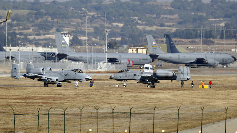 Incirlik airbase in the southern city of Adana, Turkey © Umit Bektas