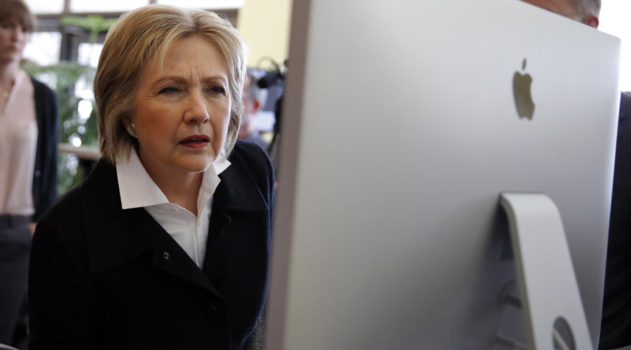 Clinton campaign network infiltrated by hackers