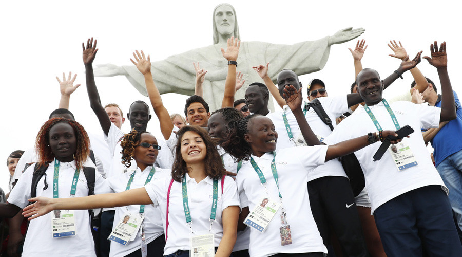 'They've already won': Refugee Olympic Team arrives in Rio (VIDEO, PHOTOS)