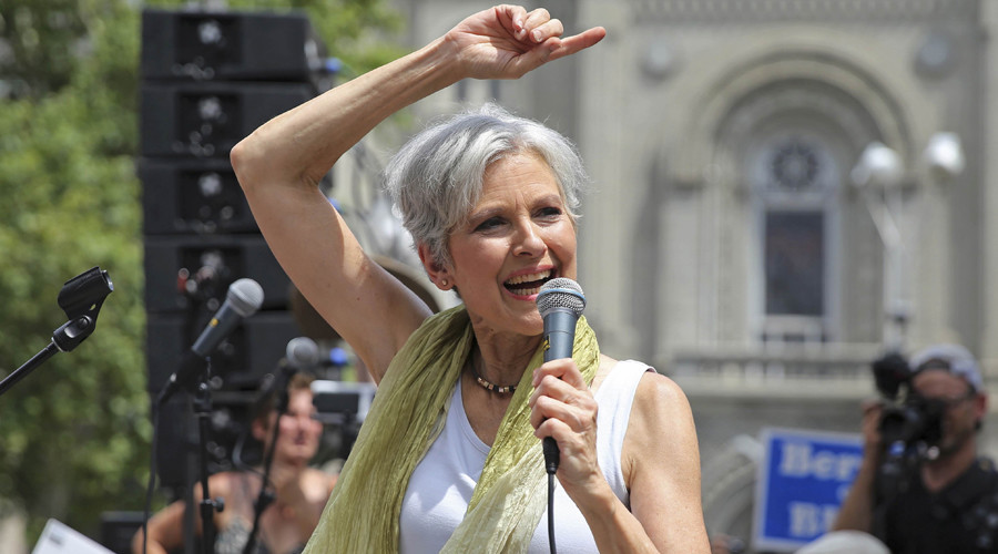 Green Party presidential candidate Jill Stein © Dominick Reuter