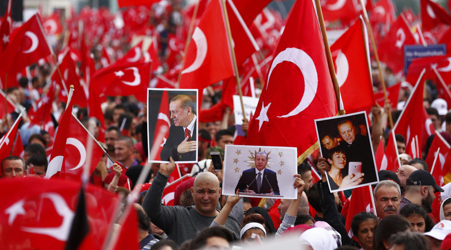 Turkey's Erdogan blasts foreign countries over coup reaction