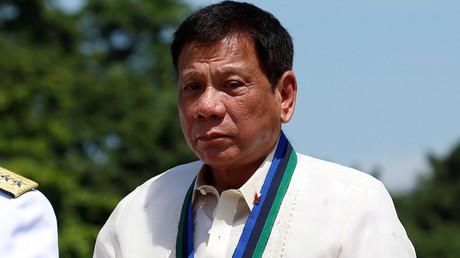 Philippines President Rodrigo Duterte © Erik de Castro