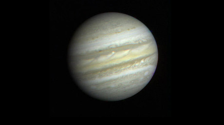 First close-up view of Jupiter from Voyager 1. © NASA
