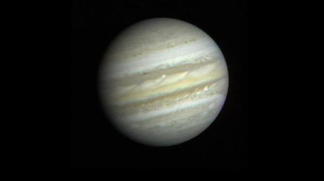 First close-up view of Jupiter from Voyager 1. ©NASA