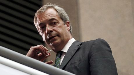 The leader of the United Kingdom Independence Party Farage. ©Phil Noble
