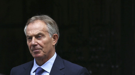 Former British Prime Minister Tony Blair. ©Neil Hall