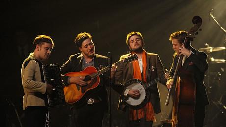 The Mumford & Sons band. ©Mario Anzuoni