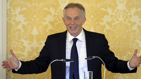 Former British Prime Minister, Tony Blair, delivers a speech following the publication of The Iraq Inquiry Report by John Chilcot, in London, Britain July 6, 2016. ©Stefan Rousseau