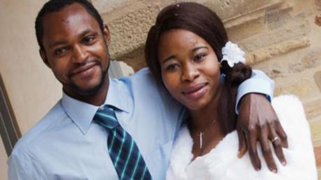 Emmanuel Chidi Namdi and his fiancee Chinyeri © facebook.com