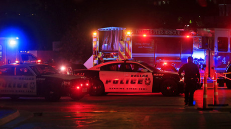 Five police officers have now died after the attack in Dallas. © Ron Jenkins