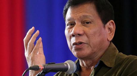 Philippine President-elect Rodrigo Duterte © Lean Daval Jr