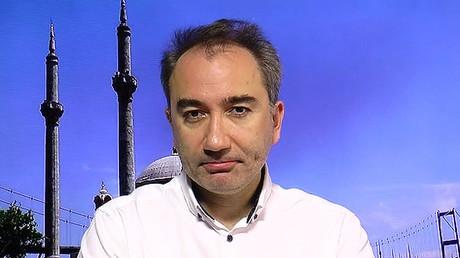 A Turkish writer and journalist Mustafa Akyol.