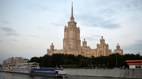 The Russian Foreign Ministry Building on Moscow's Smolenskaya Square. © Ekaterina Chesnokova