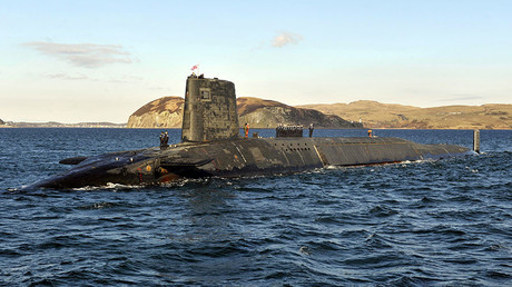 Trident Nuclear Submarine, HMS Victorious. ©Andy Buchanan