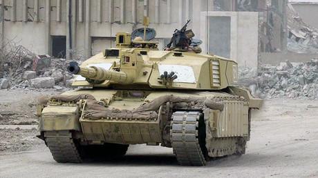 A Challenger 2 tank. ©Reuters