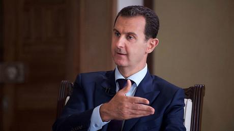 Syria's President Bashar Assad. ©SANA