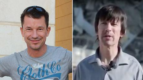 British photojournalist John Cantlie. ©AFP