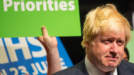 Former London Mayor Boris Johnson © Dominic Lipinski