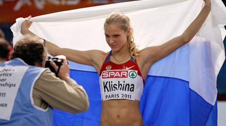 Russia's Darya Klishina © Charles Platiau