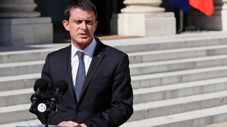 French Prime Minister Manuel Valls © Thomas Samson