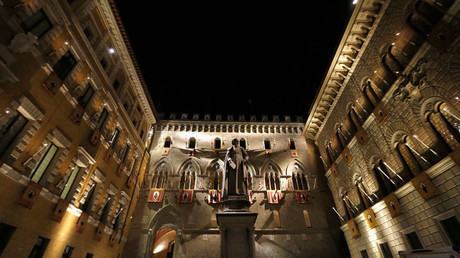 The Monte dei Paschi bank headquarters, Siena © Stefano Rellandini