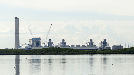 The Turkey Point Generating Station, near Homestead, Florida. © Acroterion
