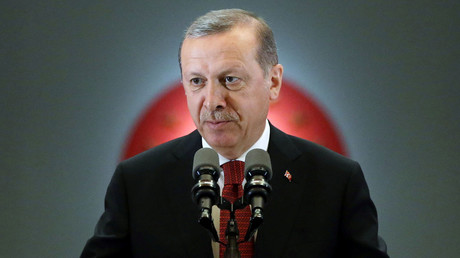 Turkish President Tayyip Erdogan. © Murat Cetinmuhurdar
