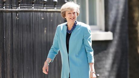 Britain's Prime Minister Theresa May © Paul Hackett