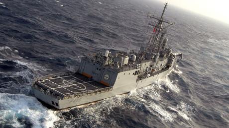 FILE PHOTO, Turkish frigate F-495 TCG Gediz. © Wikipedia