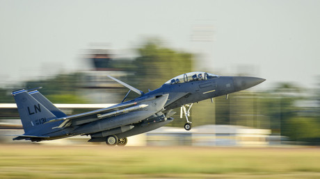 A U.S. Air Force F-15E Strike Eagle © US AIR FORCE