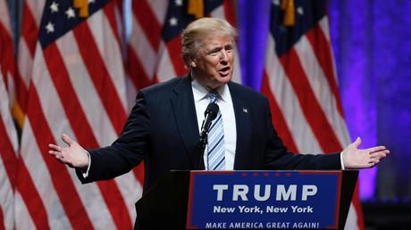Republican presidential candidate Donald Trump © Eduardo Munoz