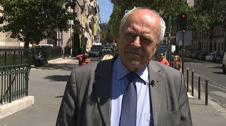 Alain Juillet - former intelligence chief at France's External Security Agency