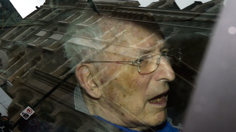 Lord Greville Janner leaves Westminster Magistrates' Court in London, Britain © Toby Melville
